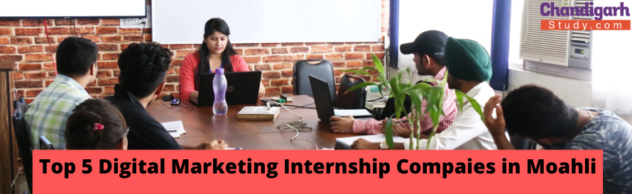 Top 5 Digital Marketing Internship Companies in Mohali