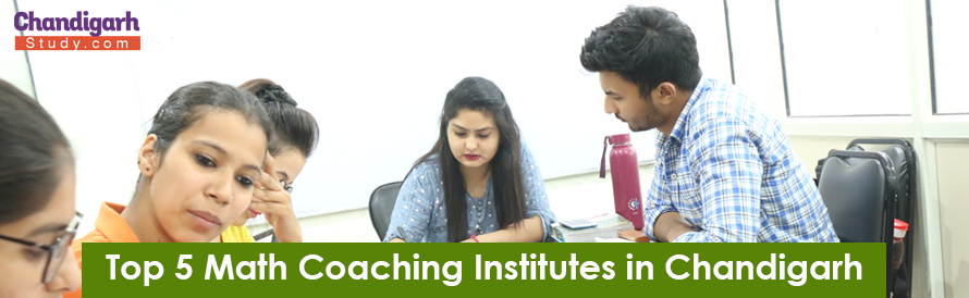 Top 5 Math Coaching Institutes in Chandigarh