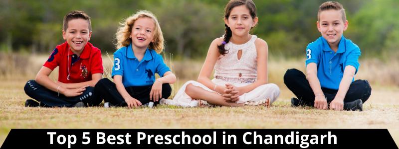 Top 5 Best  Preschool in Chandigarh