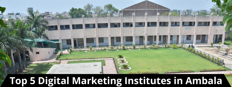 Top 5 Digital Marketing Institutes in Ambala