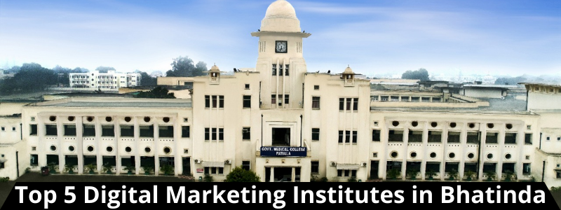 Top 5 Digital Marketing Institutes in Bhatinda