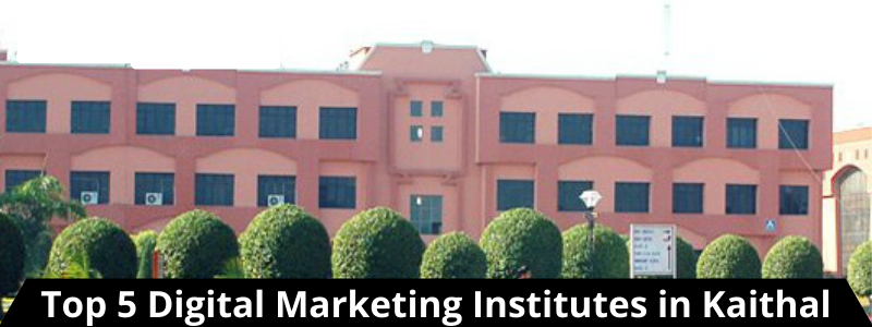Top 5 Digital Marketing Institutes in Kaithal