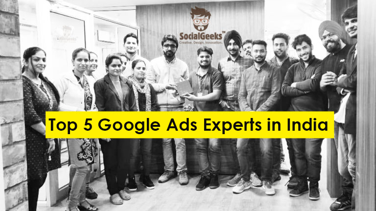 Top 5 Google Ads Experts in India