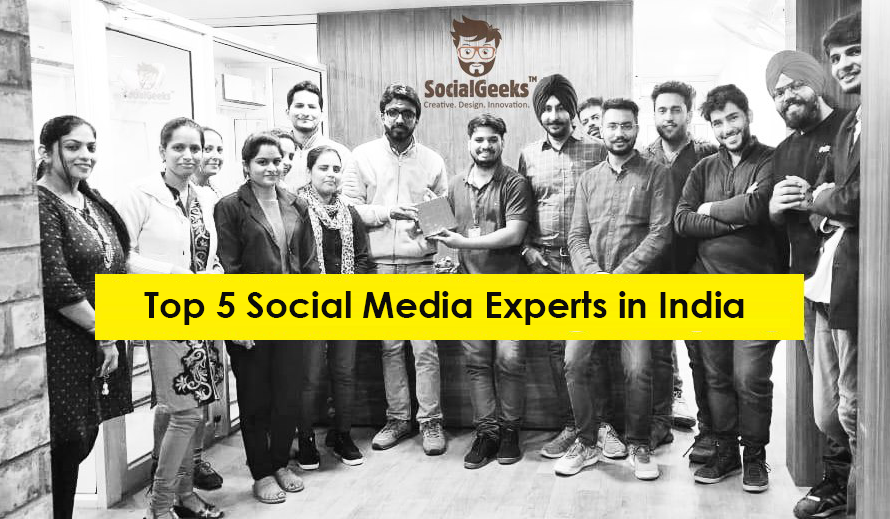 Top 5 Social Media Experts in India 2021