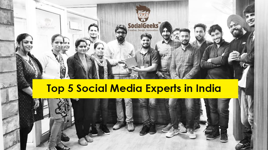 Top 5 Social Media Experts in India